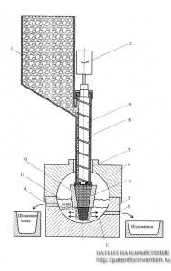 Устройство для получения стали