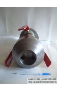 Задвижка-регулятор расхода жидкости или газа
