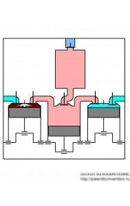 Гибридная тепловая машина