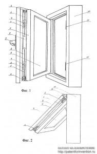 Конструкция окна или двери