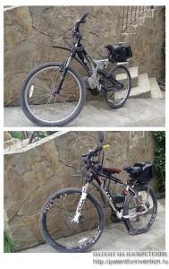 Трансмиссия моторизованного велосипеда