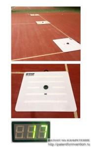 Автономный тренажёр - мишень для большого тенниса