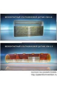 Бесконтактный датчик уровня жидкости (газа)