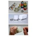 Устройство для резки клейкой ленты и предотвращения потери ее окончания